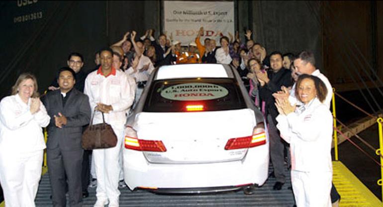 1 Millionth Honda Auto Export