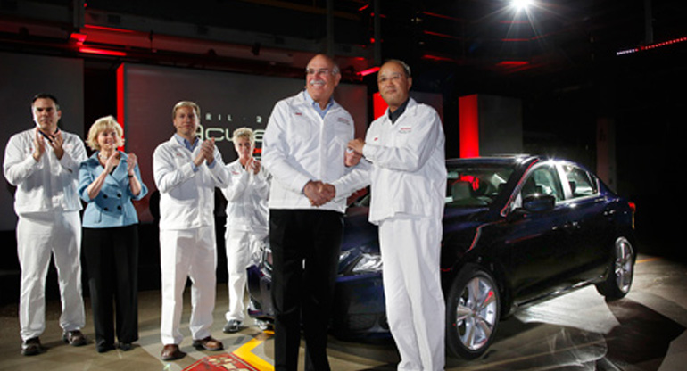 Honda Begins Production of All-New 2013 Acura ILX at Indiana Plant