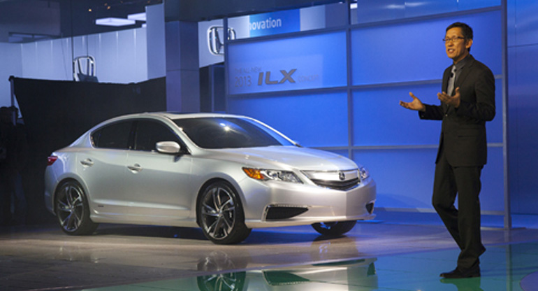 New Acura ILX Concept Debuts at North American International Auto Show