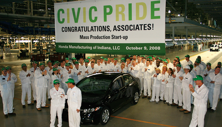 Honda Greensburg Indiana >> Welcome to Honda Manufacturing of Indiana